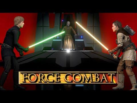 NEW Star Wars Lightsaber Game - Force Combat