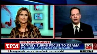 "Reince Priebus To CNN Host: ""I Know How You"