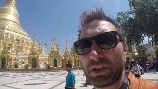 Arrived in Myanmar - A Day in Yangon