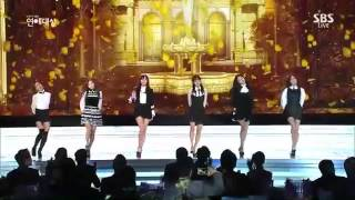 Gambar cover [141230]  A Pink - LUV @SBS Entertaiment Awards