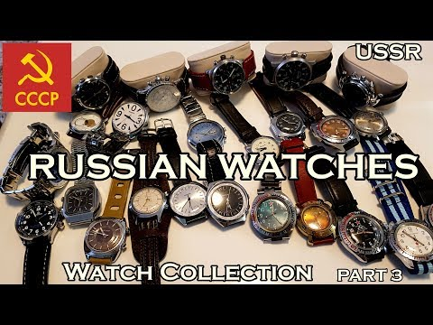 A True Enthusiast Watch Collection: Russian Watches - Part Three #3