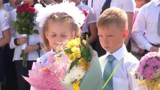 Олег Климанов провел урок в гимназии №216