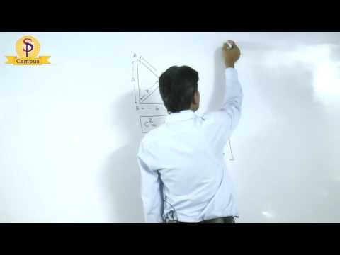 Maths by S P  Pandey Sir Geometry Right angle triangle   Part  II