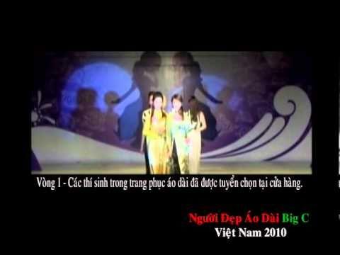 Nguoi dep Ao Dai Big C Viet Nam 2010