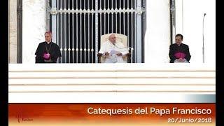Catequesis en español del Papa Francisco 20/06/2018 HD