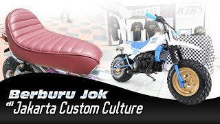 Berburu Jok di Jakarta Custom Culture