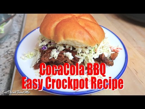 Super Easy Crock Pot Coca Cola Pulled Pork – Easy Recipe Eps #36