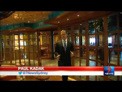 Carnival Legend - Channel Seven Evening News (Sydney)