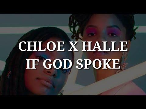 Chloe x Halle - If God Spoke (Lyrics)