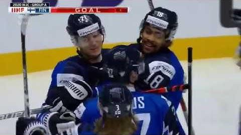 Jääkiekon Nuorten MM 2020 | Suomi - Slovakia