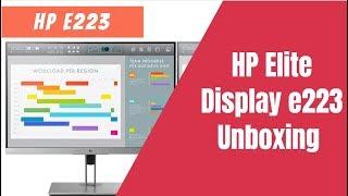 монитор HP E223