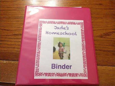 2nd Grade Homeschool Morning Binder: fluency/memory