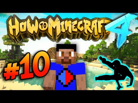 PARKOUR EVENT! - HOW TO MINECRAFT S4 #10
