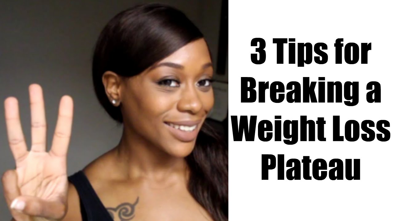 Breaking a Weight Loss Plateau - YouTube