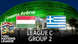 Hungary vs Greece - 2018-19 UEFA Nations League - PES 2019
