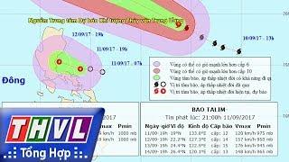 THVL   Người đưa tin 24G: Bão TaLim và áp thấp nhiệt đới gần biển Đông