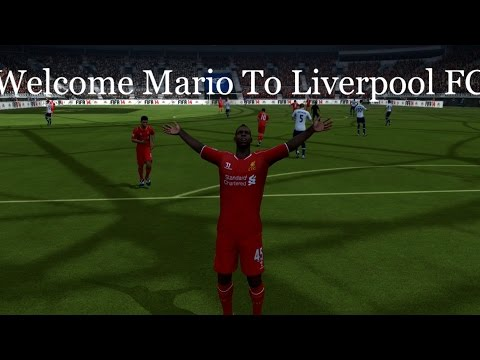 FIFA 15 | MARIO BALOTELLI | WELCOME TO LIVERPOOL FC