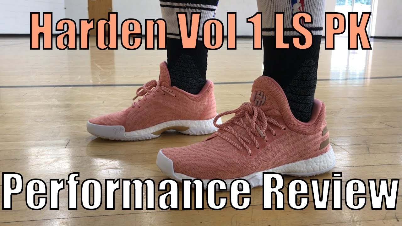 adidas harden ls performance review
