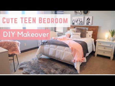 CUTE TEEN BEDROOM 💖 Lily's Room DiY Makeover