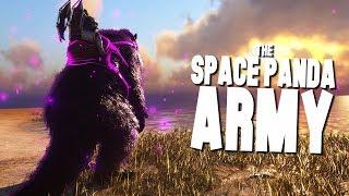 SPACE PANDA ARMY + EVOLVED DODOREX - Ark Survival Evolved Modded Ep #61