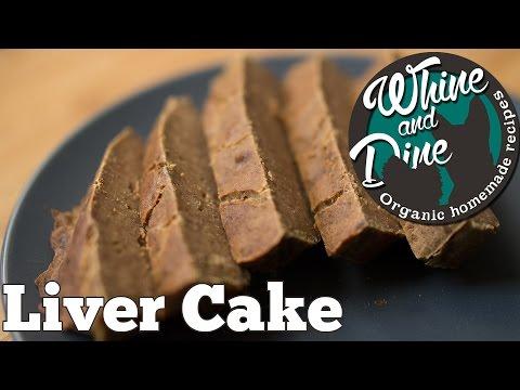 Simple Liver Cake   Homemade Dog Cake