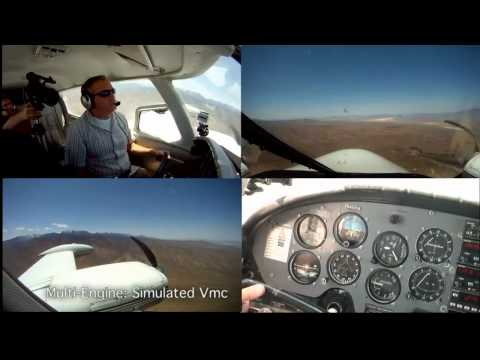 Multi-Engine Lesson 4 - Vmc Demonstration
