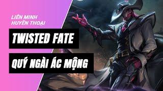 Twisted Fate Quý Ngài Ác Mộng (Crime City Nightmare Twisted Fate) | Liên Minh Huyền Thoại 11.17