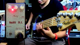 BASS D.I. demo #1 : Active 5 strings Fender American Deluxe P bass