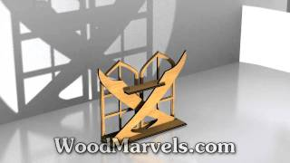 Halloween Sword Shelf: 3d Assembly Animation (720hd)