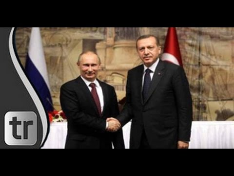 Präsident Recep Tayyip Erdoğan empfängt Russlands Präsident Putin im Palast Ankara Turkish Stream