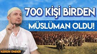 700 KİŞİ BİRDEN MÜSLÜMAN OLDU! / Kerem Önder