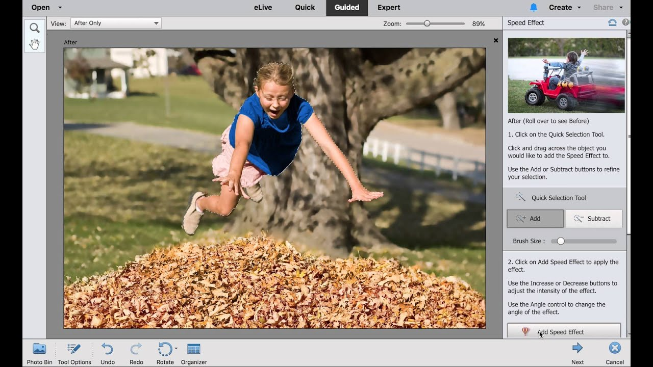 how to add layers in photoshop elements 14
