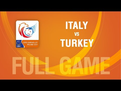 Italy vs Turkey | PLAYOFF | LOTTO EUROVOLLEY POLAND 2017