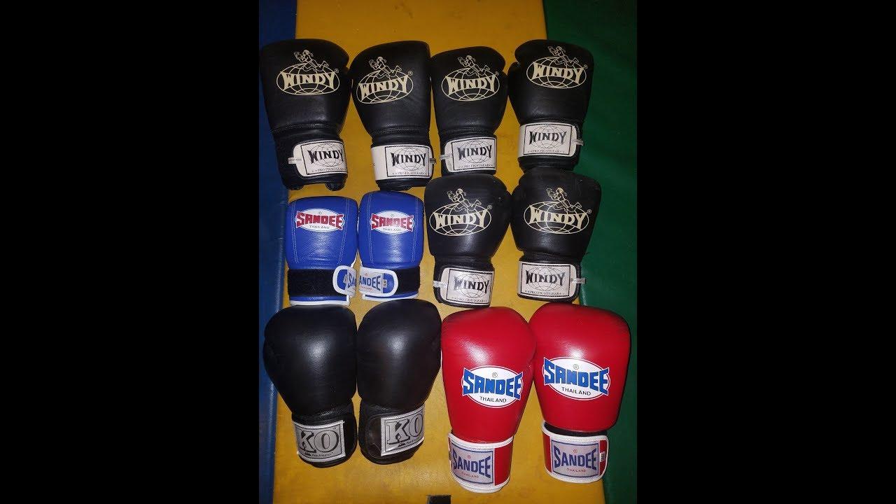 Windy Sandee KO Fightgear Muay Thai Gloves REVIEW