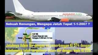 Video Kejadian Aneh Aneh Sebelum Adam Air Jatuh download MP3, 3GP, MP4, WEBM, AVI, FLV Juni 2018