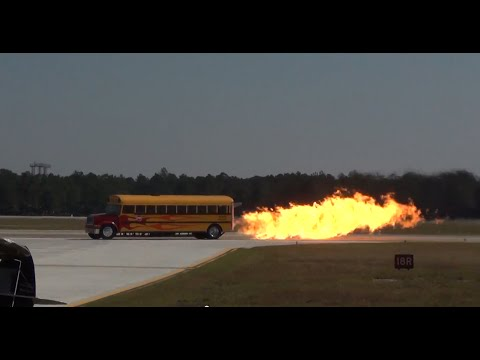 BAD TO THE BONE!! General Electric J-79 Powered Jet Bus