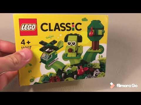 Grünes Kreativ-Set Classic LEGO 11007