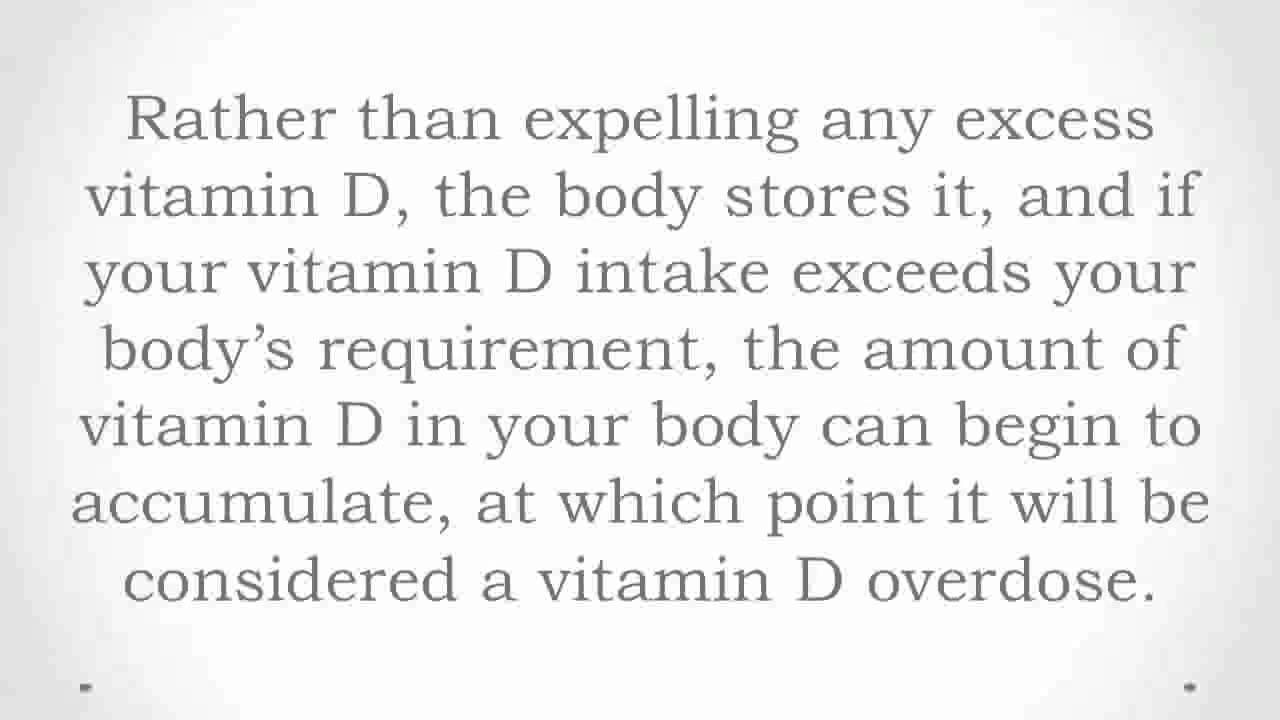 Vitamin d side effects