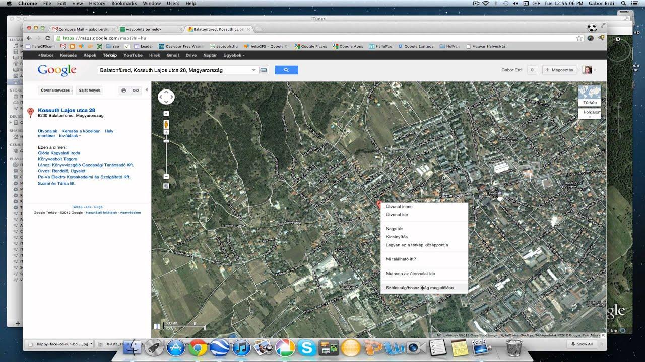 Google Terkep Magyar Groomania