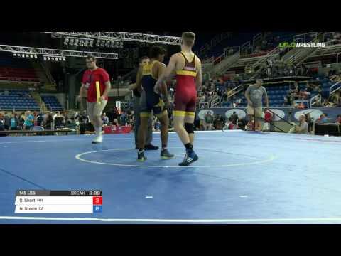 Cadet GR 145 Round of 64 - Quayin Short (MN) vs. Nicholas Steele (CA)