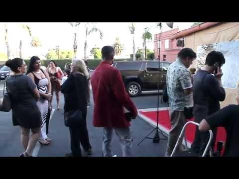 Murder 101 Hollywood Premiere  Red Carpet Arrivals wJasmine Waltz, Percy Daggs III, Dante Bosco