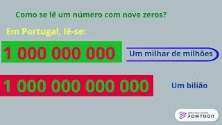 O bilião/ o bilhão