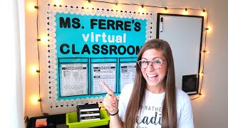 CREATING A CLASSROOM AT HOME | Haul and Classroom Set Up Vlog for Virtual Learning