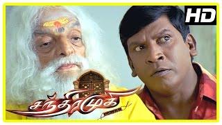 Chandramukhi Tamil Movie   Vadivelu scared about Chandramukhi   Rajinikanth   Nayanthara   Jyothika