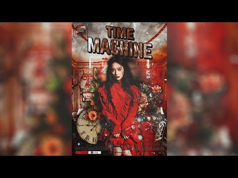 [ SPEED ART ] TIME MACHINE - WATTPAD COVER / FANFICTION COVER