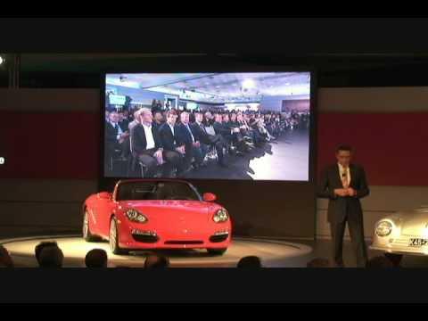 Boxster & Cayman, Porsche, LA Auto Show 2008.