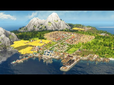 [LIVE🔴] ANNO 1800 | Building A New Global Empire | Anno 1800 Closed Beta Gameplay