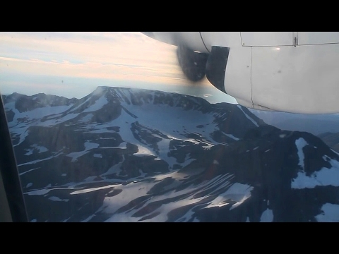 Air Iceland Fokker 50 Reykjavik-Akureyri Safety, Takeoff, Inflight, Landing NV120