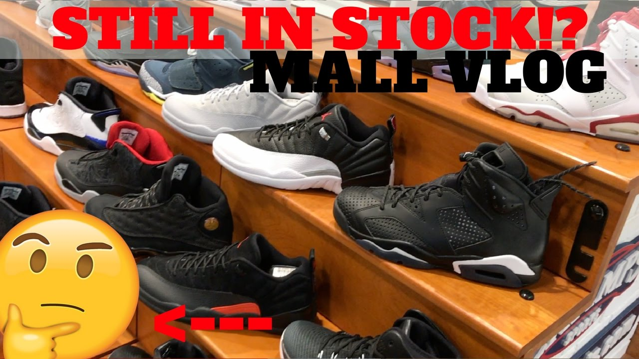 0aafc0858d5 THESE STILL IN STOCK  MALL SHOPPING VLOG (FOOTLOCKER   CHAMPS) - YouTube