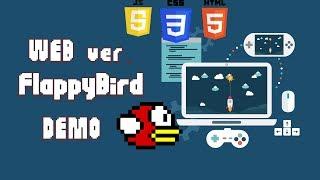 WEB версия игры Flappy Bird написана на стриме!